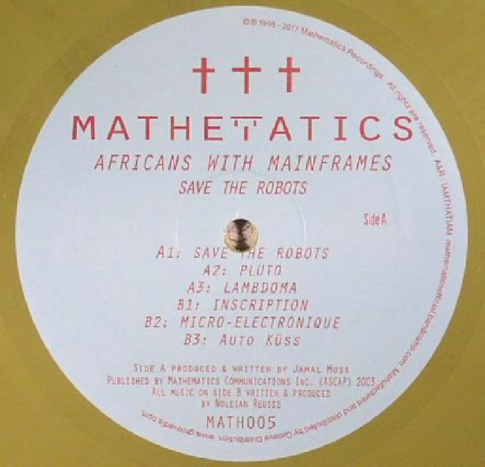 AFRICANS WITH MAINFRAMES - Save The Robots EP (reissue)