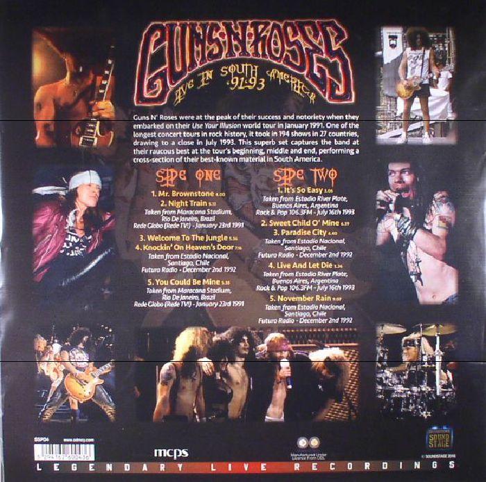 Guns N Roses Live In South America 91 93 Vinyl At Juno