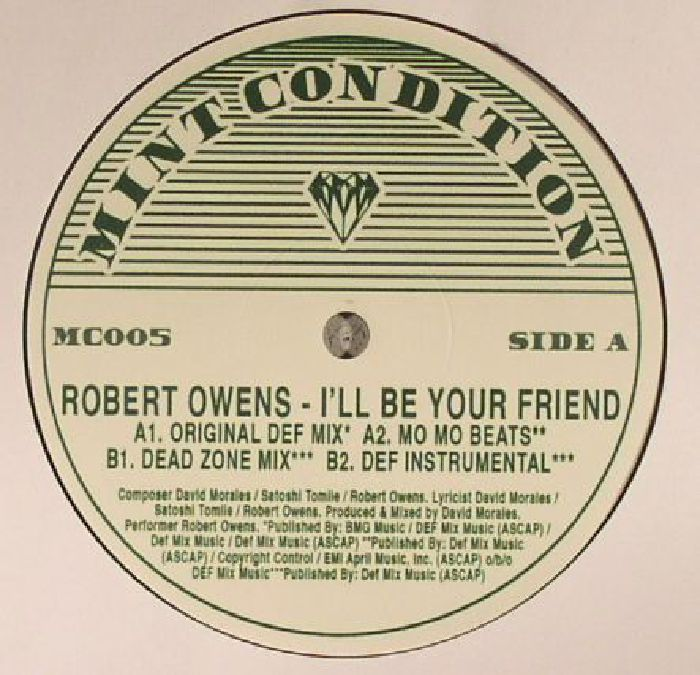 OWENS, Robert - I'll Be Your Friend