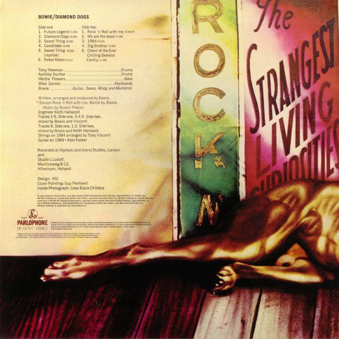 BOWIE, David - Diamond Dogs (remastered)