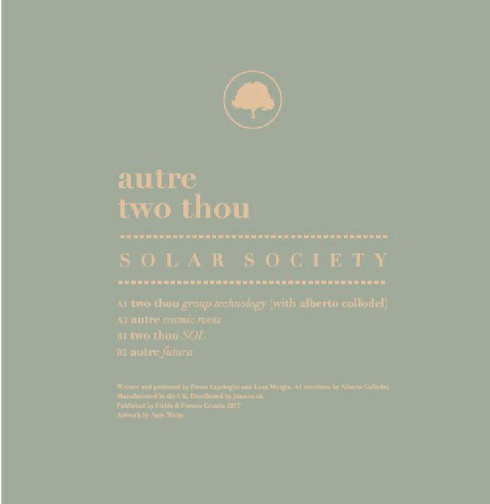 AUTRE/TWO THOU - Solar Society