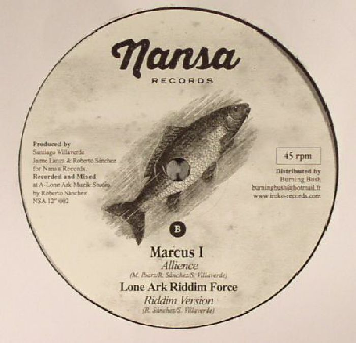EARL SIXTEEN/MARCUS I/LONE ARK RIDDIM FORCE - Run Away