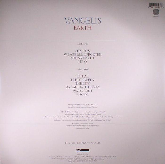 VANGELIS - Earth (remastered)