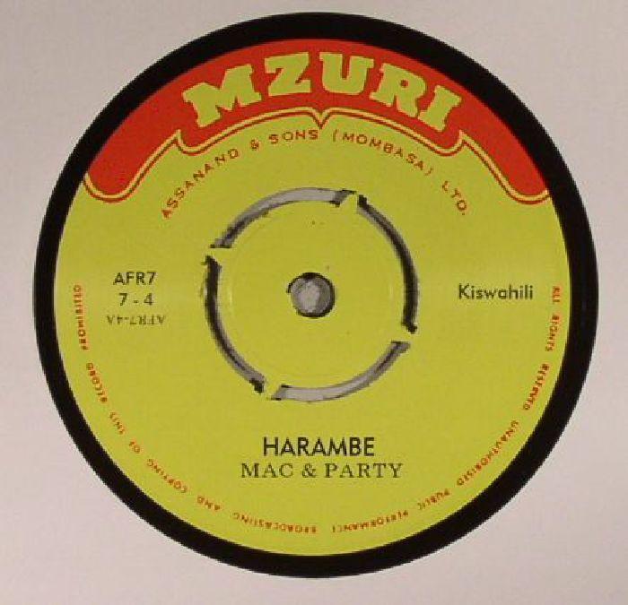 MAC & PARTY - Harambe