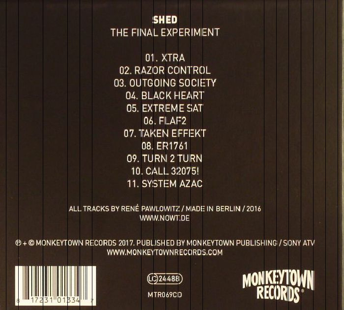 SHED - The Final Experiment