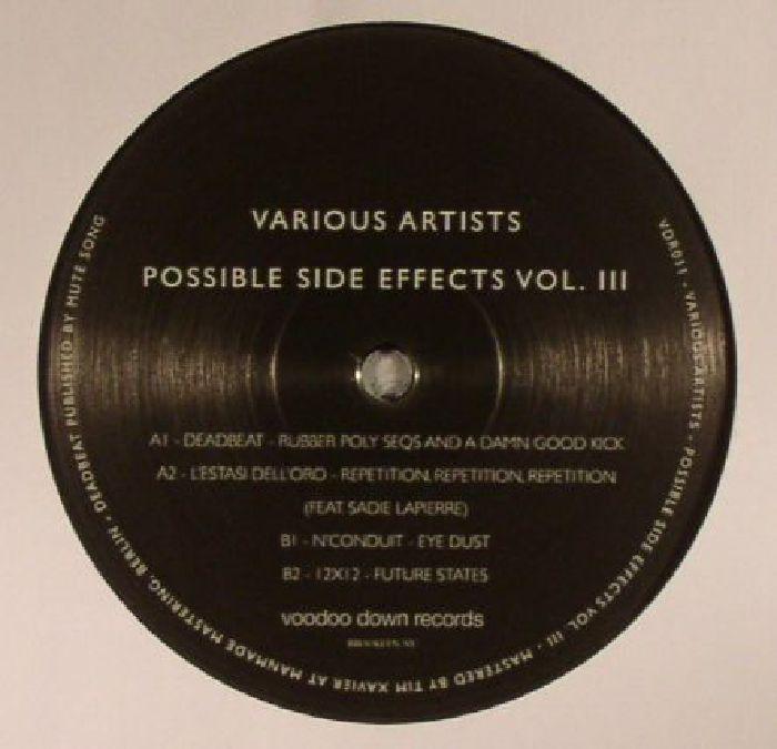 DEADBEAT/L'ESTASI DELL'ORO/N'CONDUIT/12 X 12 - Possible Side Effects Vol III