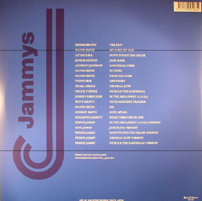 VARIOUS - King Jammys Dancehall 1: 1985-1989