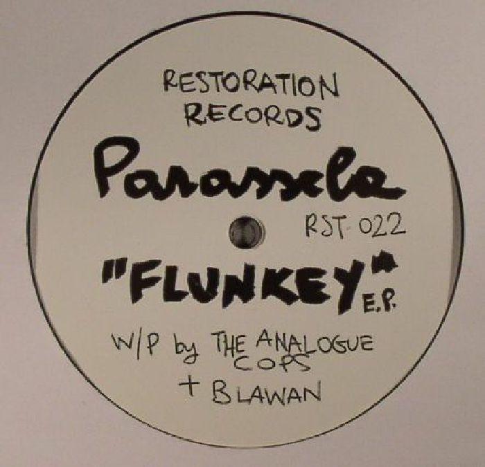 PARASSELA aka THE ANALOGUE COPS/BLAWAN - Flunkey EP