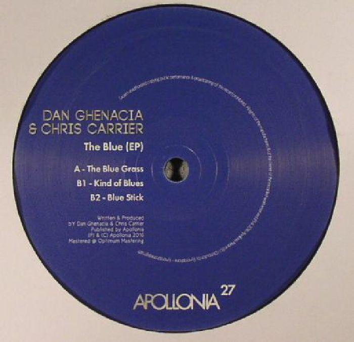 GHENACIA, Dan/CHRIS CARRIER - The Blue EP