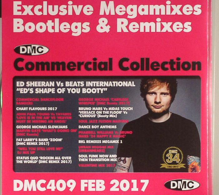 VARIOUS - DMC Commercial Collection February 2017: Exclusive Megamixes Bootlegs & Remixes (Strictly DJ Only)