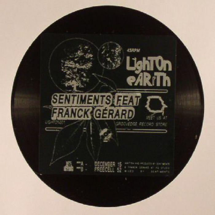 SENTIMENTS feat FRANCK GERARD - December 15 (reissue)