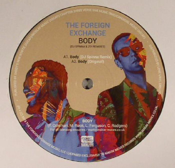 FOREIGN EXCHANGE, The - Body (remixes)