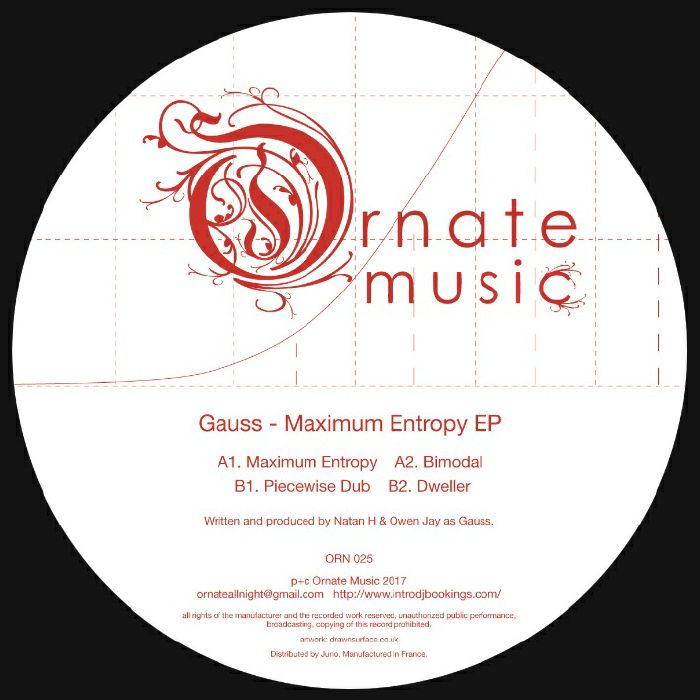 GAUSS - Maximum Entropy EP (includes hand-numbered limited edition print)