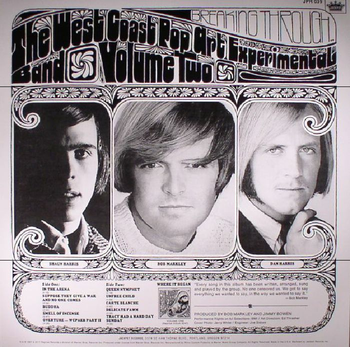 WEST COAST POP ART EXPERIMENTAL BAND, The - Vol 2 (reissue) (mono)