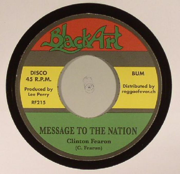 FEARON, Clinton/UPSETTERS - Message To The Nation