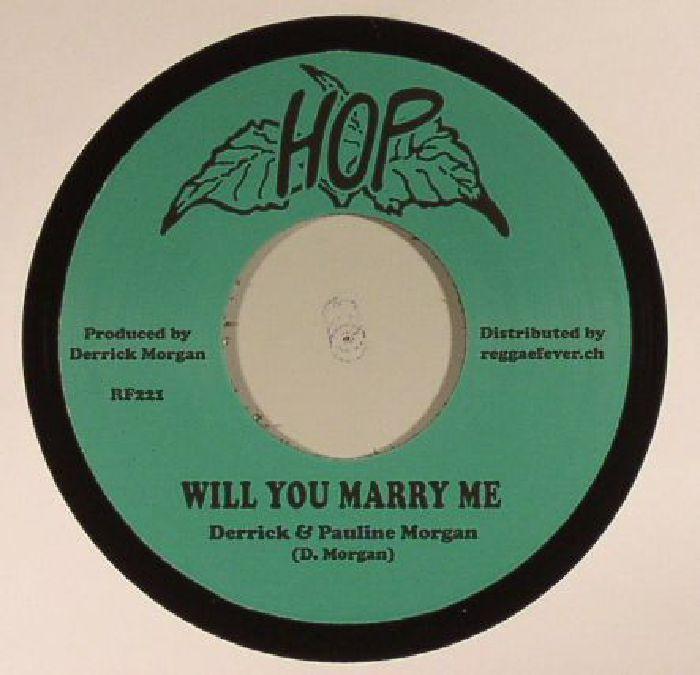 MORGAN, Derrick/PAULINE MORGAN/NAOMI PHILLIPS - Will You Marry Me