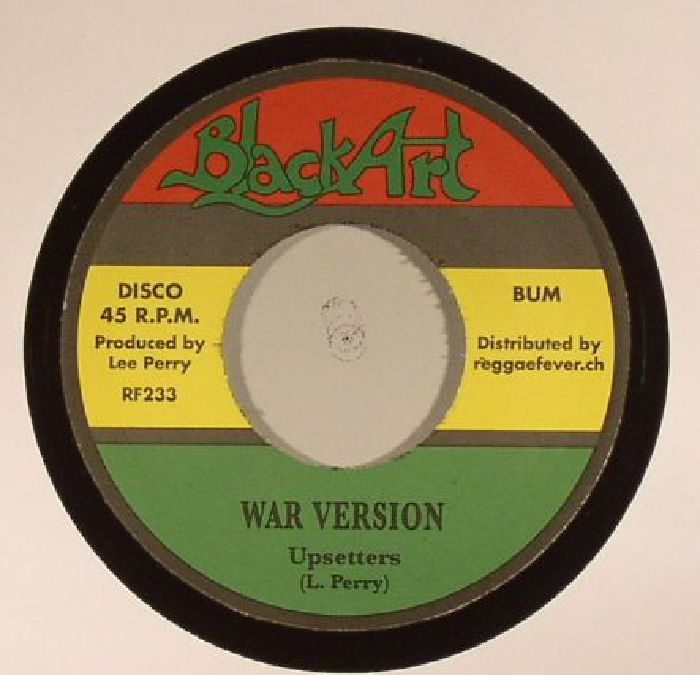 BURNETT, Watty/UPSETTERS - What A War