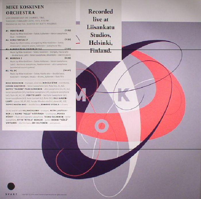 MIKE KOSKINEN ORCHESTRA - Jazz Liisa 9
