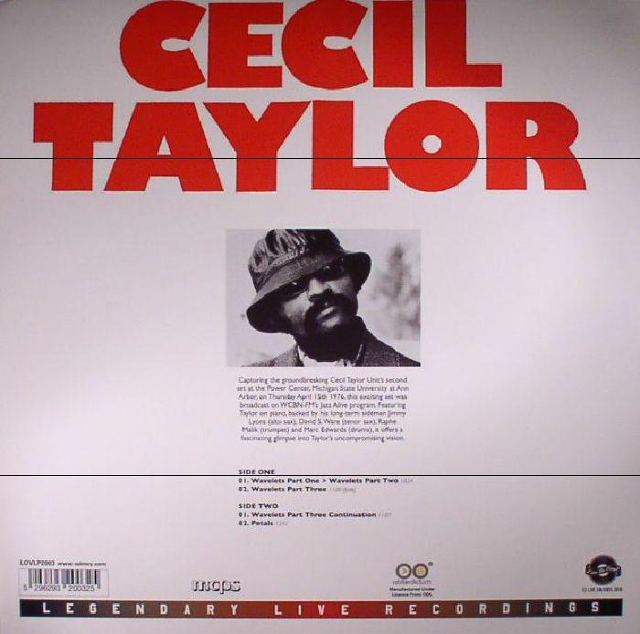TAYLOR, Cecil - Michigan State University April 15th 1976