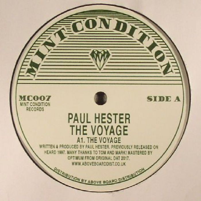 HESTER, Paul - The Voyage (reissue)
