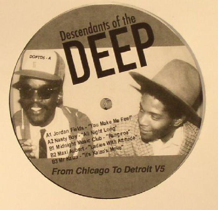 FIELDS, Jordan/NASTY BOY/MIDNIGHT MUSIC CLUB/MAXI AUBERT/MR KAIZO - From Chicago To Detroit V5