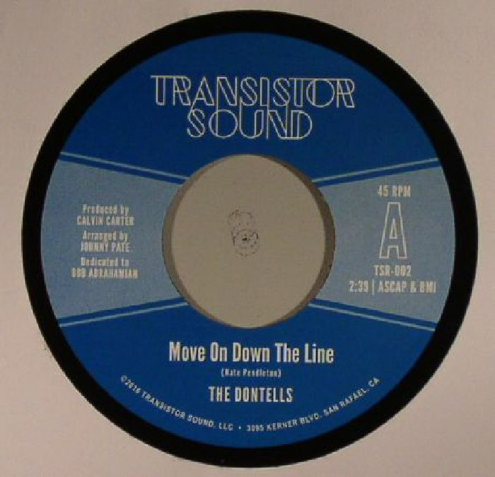 DONTELLS, The - Move On Down The Line