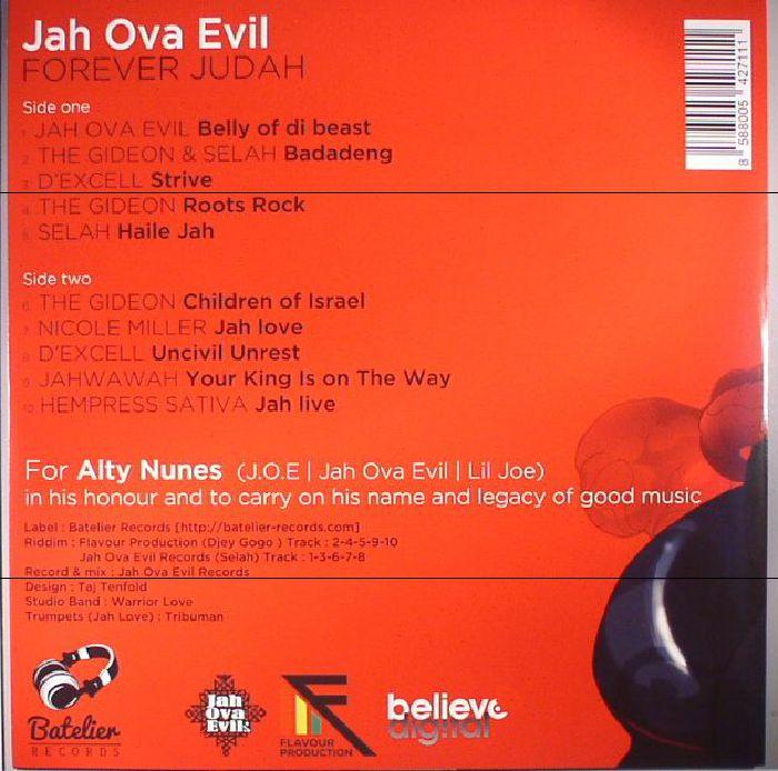 JAH OVA EVIL/VARIOUS - Forever Judah