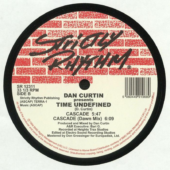CURTIN, Dan presents TIME UNDEFINED - Alive (reissue)