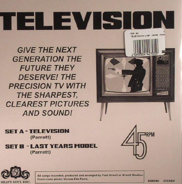 PARRETT, Michael - Television