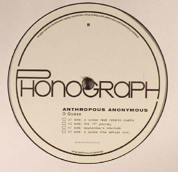 ANTHROPOUS ANONYMOUS - O Quase