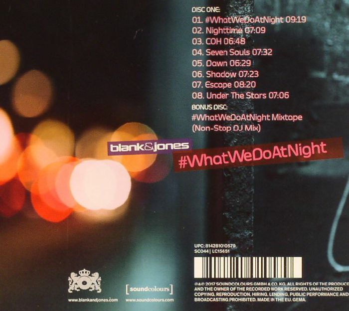 BLANK & JONES - #WhatWeDoAtNight