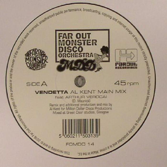 FAR OUT MONSTER DISCO ORCHESTRA feat ARTHUR VEROCAI - Vendetta