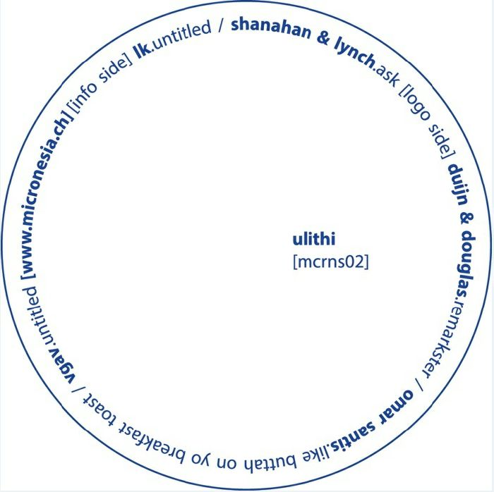 LK/SHANAHAN & LYNCH/DUIJN & DOUGLAS/OMAR SANTIS/VGAV - Ulithi