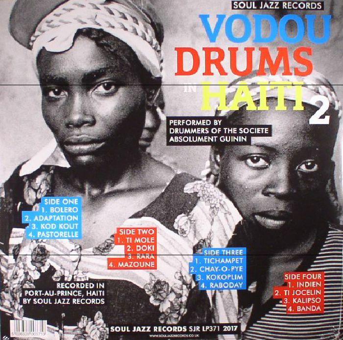 VARIOUS - Vodou Drums In Haiti 2: The Living Gods Of Haiti 21st Century Ritual Drums & Spirit Possession