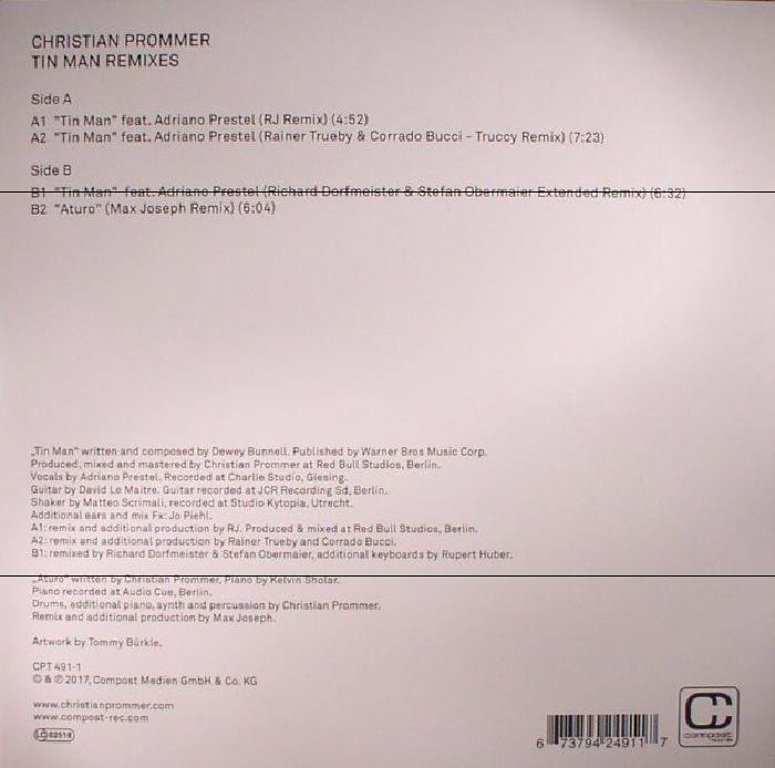 PROMMER, Christian feat ADRIANO PRESTEL - Tin Man: Remixes