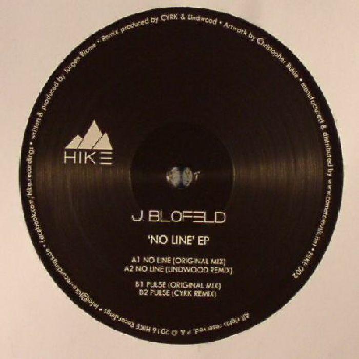 BLOFELD, J - No Line EP