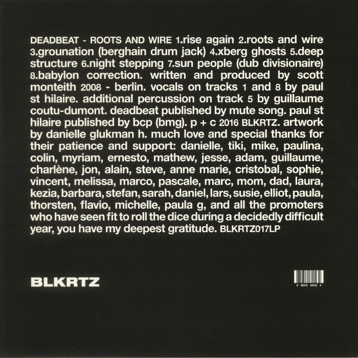 DEADBEAT - Roots & Wire (reissue)