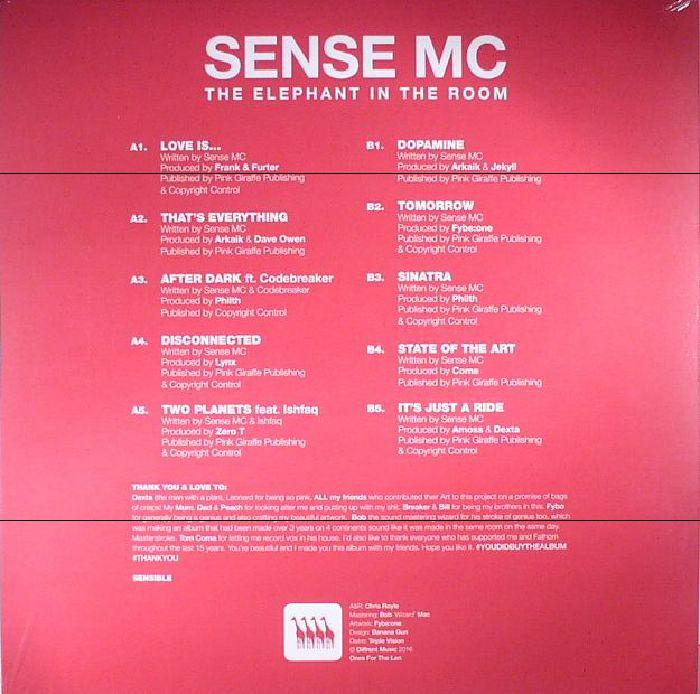 SENSE MC - The Elephant In The Room