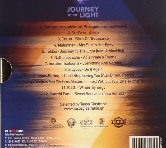 GIASIRANIS, Tasos/VARIOUS - Journey To The Light: Rhodes Dodecanese