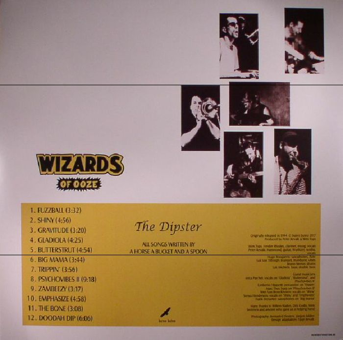 WIZARDS OF OOZE - The Dipster (reissue)