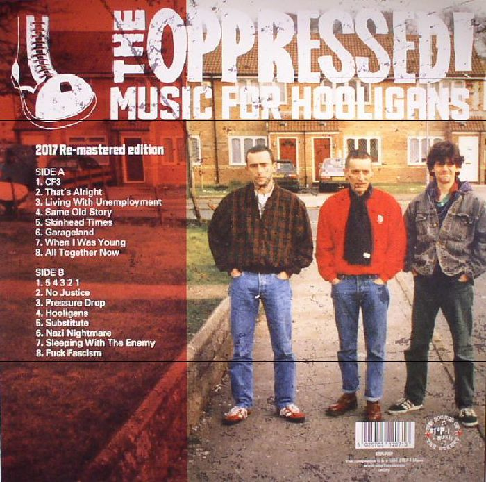 OPPRESSED, The - Music For Hooligans (remastered)
