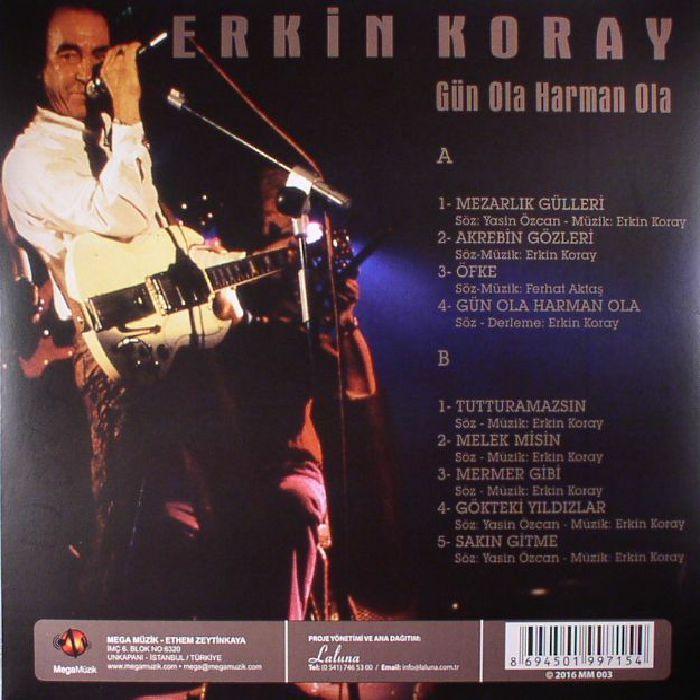 KORAY, Erkin - Gun Ola Harman Ola (reissue)