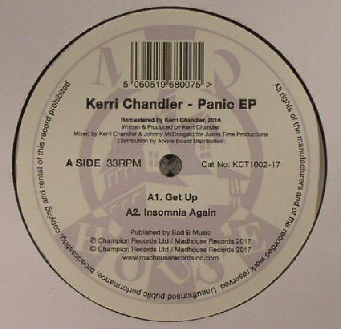 CHANDLER, Kerri - Panic EP (reissue)