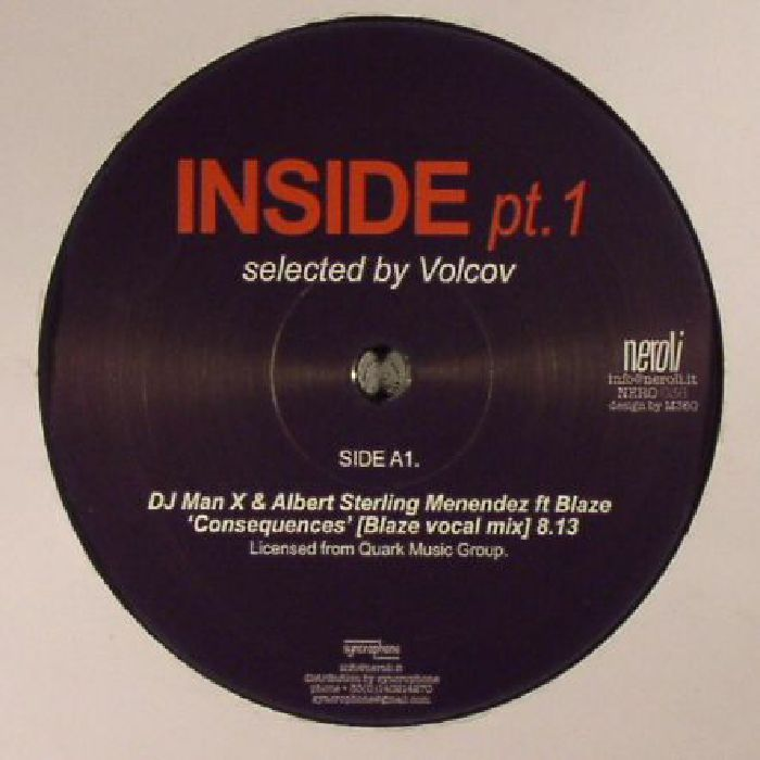 DJ MAN X/ALBERT STERLING MENENDEZ/LEE PEARSON JR COLLECTIVE/LEE VAN KLEEF - Inside Part 1