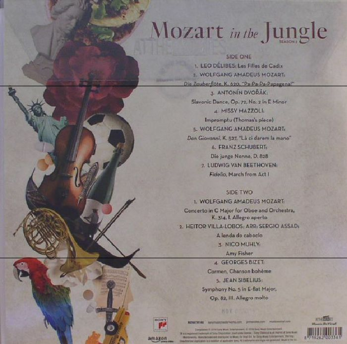 VARIOUS - Mozart In The Jungle Season 3 (Soundtrack) (Deluxe Edition)
