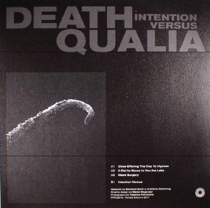 DEATH QUALIA - Intention Versus