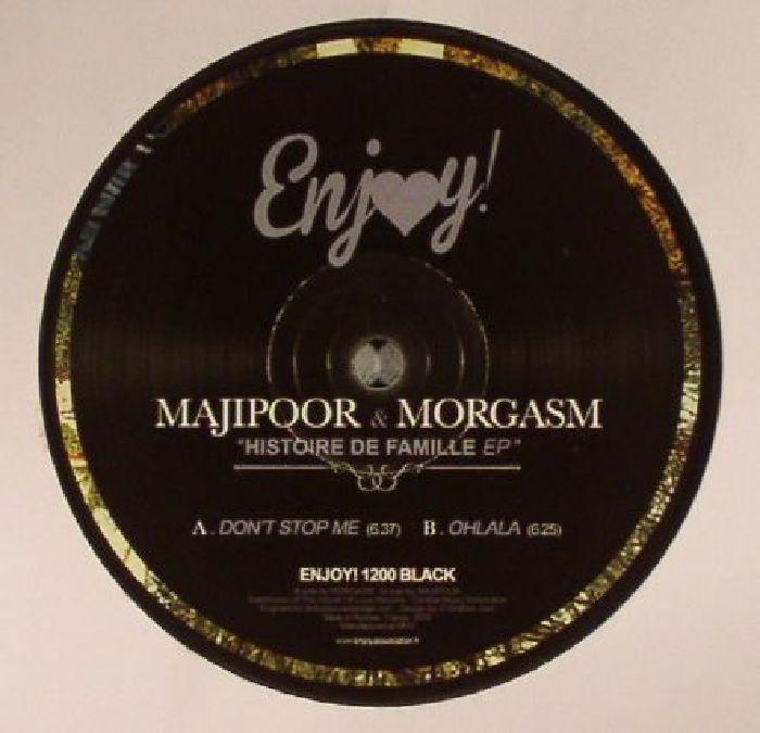 MAJIPOOR/MORGASM - Histoire De Famille EP