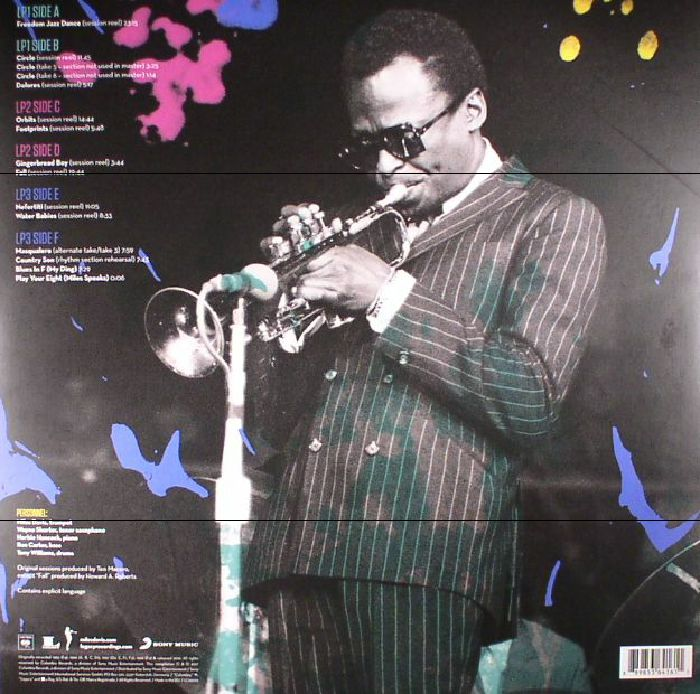 DAVIS, Miles - Miles Davis Quintet: Freedom Jazz Dance The Bootleg Series Vol 5