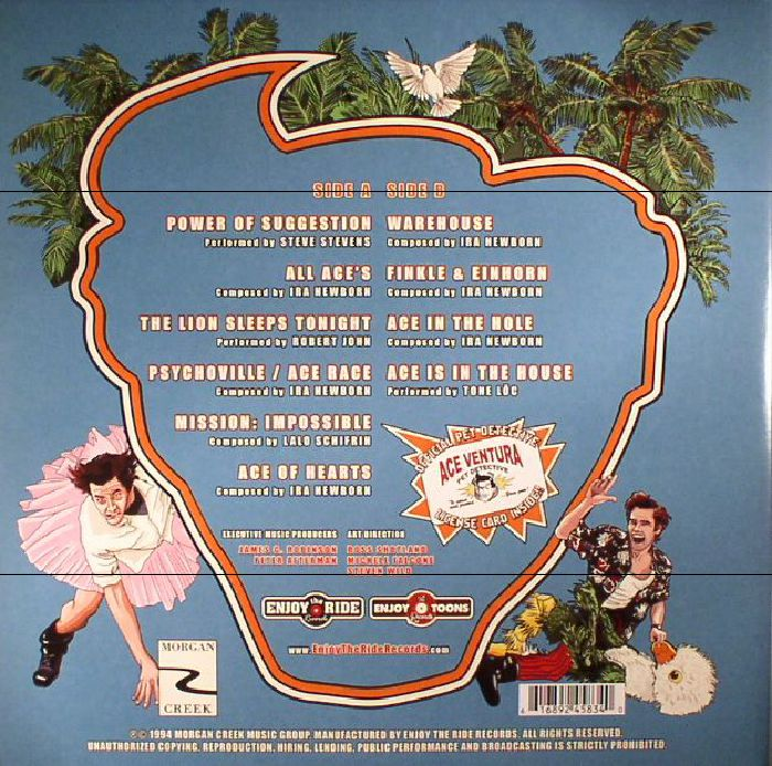 VARIOUS - Ace Ventura: Pet Detective (Soundtrack)