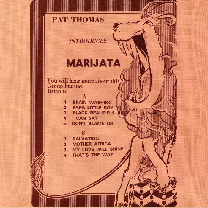 Pat Thomas Introduces Marijata Pat Thomas Introduces